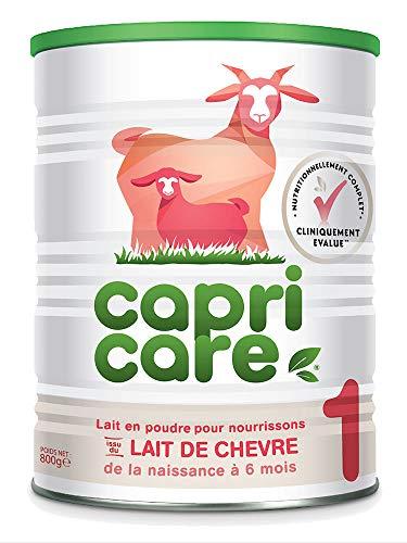 Capricare Lait de Chèvre 1 de 0 à 6 Mois 800 g