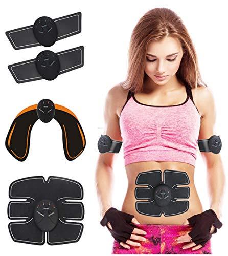 KOWE EMS Elettrostimolatore, Kit Trainer EMS, Braccio Stimolatore + Cosce + Gambe, Muscoli da Massaggio