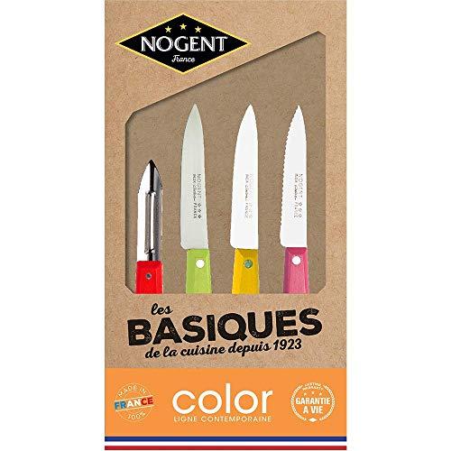 Nogent*** 00077V Les Basiques Coffret de Couteaux Cuisine