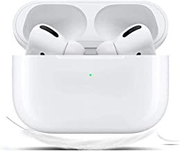 Wireless Earbuds Bluetooth 5.0 Headphones with [24 Hours Playing Time] 3D Stereo Headset in-Ear Earbuds Built-in Mic Pop-ups Auto Pairing for iPhone/Apple AirPods pro/Android/Samsung