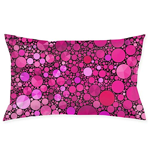KAKA ICECREAM Jewels Just Rubies Pillowcases Cotton Pillowcases for Sleeping 20x30 Inch Bed Pillow Cover Soft Pillow Protector with Hidden Zipper Home Accessories