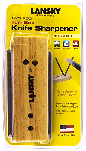 Lansky 2-Rod Turn Box Crock Stick Sharpener