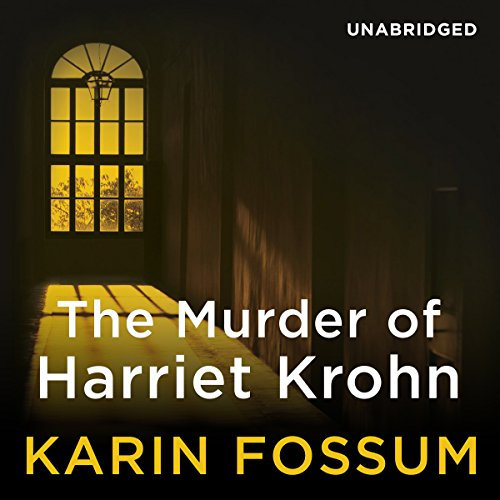 The Murder of Harriet Krohn audiobook cover art