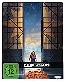 Captain Marvel 4K UHD Steelbook [Blu-ray]