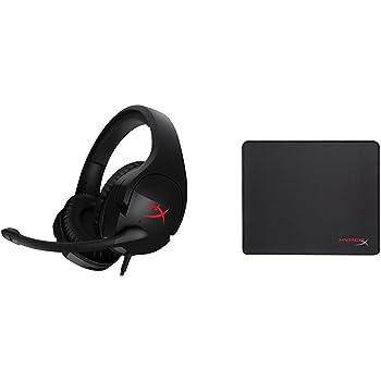 HyperX Cloud Stinger Gaming Headset and HyperX Fury S Medium Mousepad Bundle