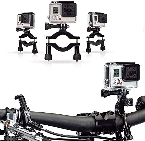 Navitech Bicycle Handlebar Mount - Compatible with The IceFox 4K Action Camera
