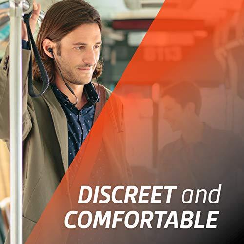 Plantronics BackBeat GO 410 Wireless Headphones, Active Noise Canceling Earbuds, Bone
