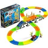 Coches de Juguetes-Pista de Carreras con carritos LED-Juguetes niña 3 4 5 6 7 8 9 10 11 12 años- Regalos para Niños
