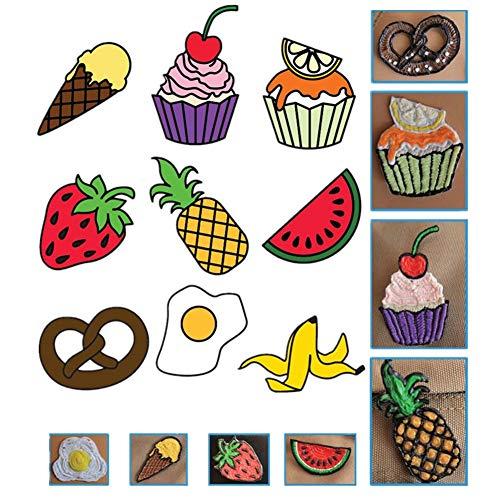 Goshyda Vorlage Papier für 3D-Stift, 20 Stück 3D-Stift Druckpapier Malerei Graffiti Vorlage 40 Cartoon-Muster, für Kinder DIY, Verbesserung der Fähigkeit der Nachahmung, Malerei, Phantasie