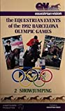 The Equestrian Events of the 1992 Barcelona Olympic Games Video Horses Showjumping