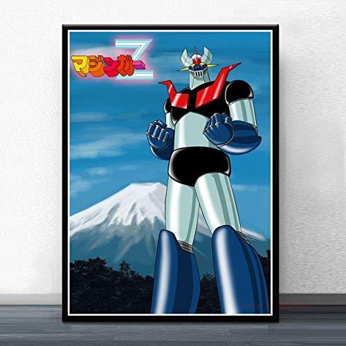 Mazinga Z Infinity Film Giapponese Manga Anime Poster E Stampe Pittura Arte Immagini A Parete per Bambini Decorazione della Stanza 50X70Cm Cdl-2434