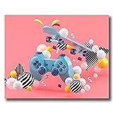Puzzle 1000 piezas Dibujos animados de universo espacio luna puzzle 1000 piezas animales Juego de habilidad para toda la familia, colorido juego de ubicación.50x75cm(20x30inch)