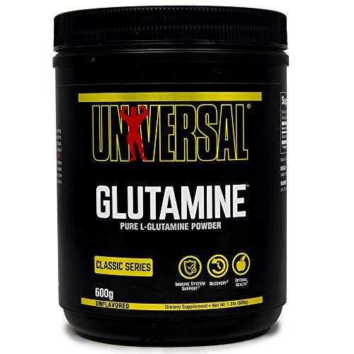Universal Nutrition Glutamin Powder Amino Aminosäure Muskelaufbau 600g (Unflavored - Geschmackslos)