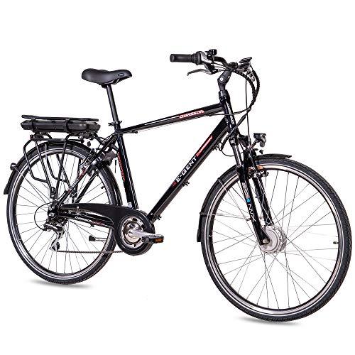 CHRISSON Bicicleta eléctrica de 28 pulgadas para trekking y