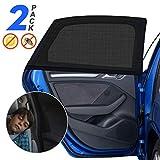 Sonnenschutz Auto Baby mit UV Schutz, 2 Stück Sonnenschutz Auto für Kinder Erwachsene Haustiere...