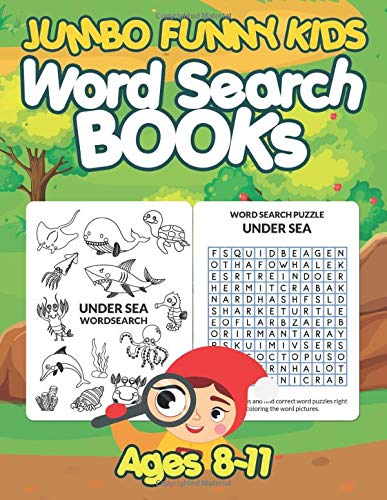 Compare Textbook Prices for Jumbo Funny Kids Word Search Books Ages 8-11: 19 Wordsearch Puzzles Book And Big 35 Crossword Game For Kids, Teens, Seniors Adults Men & Women And ... Words With Animals & Other Coloring Pictures  ISBN 9798649281058 by Pisanbandit, Nalin