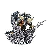 TRK Monster Hunter World CFB Cubierta Monster PS4 Limitado Exterminación Dragón Modelo Decoración Regalo Anime Accesorios Modelo de Escritorio