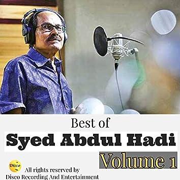 Best of Syed Abdul Hadi Volume 1