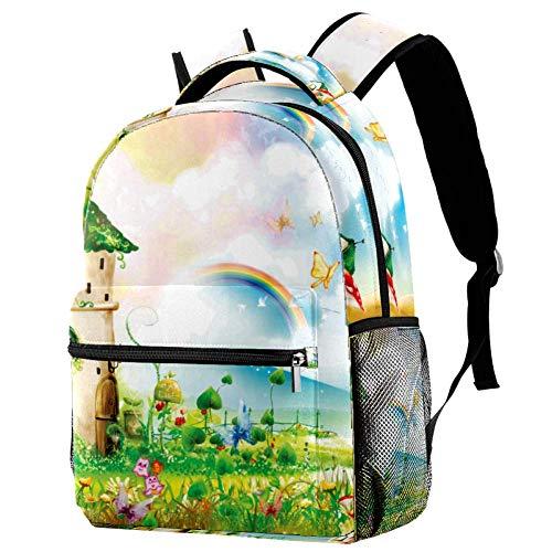 Sagostad ryggsäckar för barn för skolan - klassiska traditionella ryggsäckar med justerbara vadderade axelremmar