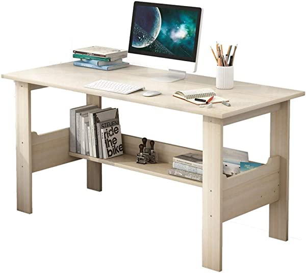 Quelife Computer Desk Home Office Desk Gaming PC Desk Writing Work Table