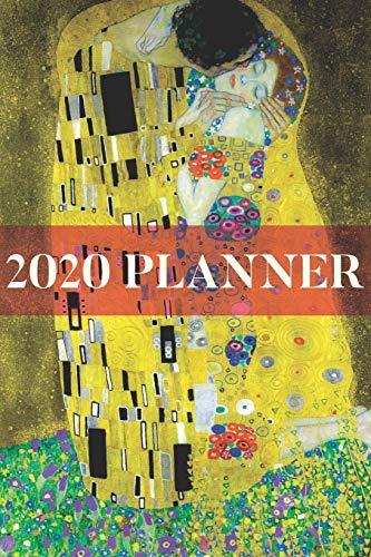 2020 Planner: Art Inspired The Kiss Gustav Klimt Weekly Planner