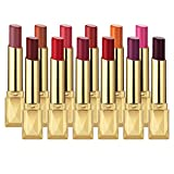 MISKOS 12PCS Matte Waterproof LipStick Summer Long Lasting Lip Makeup Set No Fade Pigmented Lip Stick Cosmeitc Gift Kits