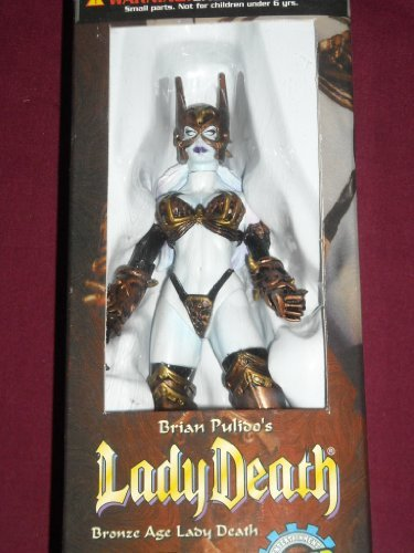 Lady Death Toyfare Exclusive Wizard Bronze Age Action Figure by