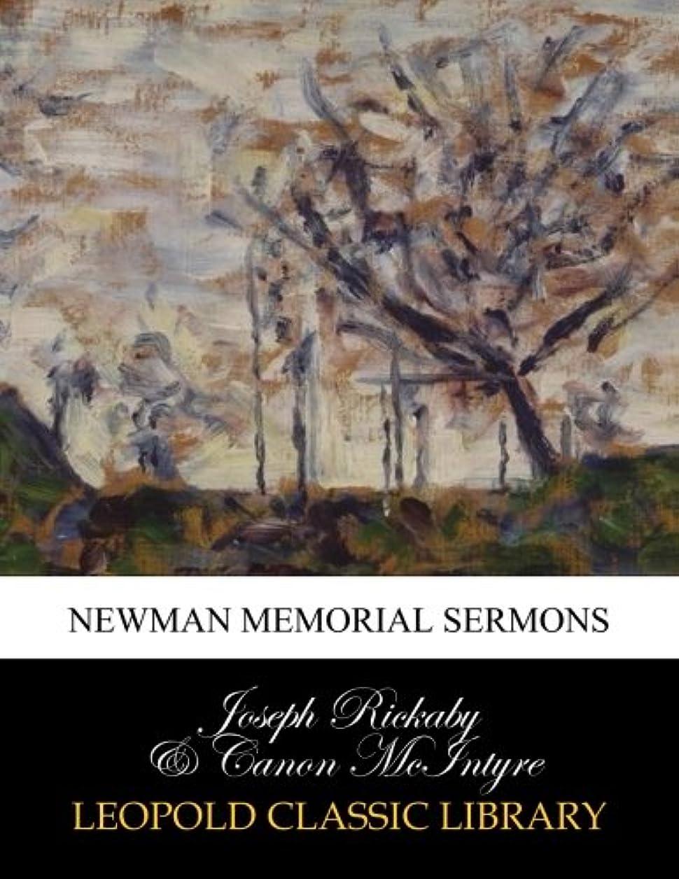 ガイドなめらかな有能なNewman memorial sermons