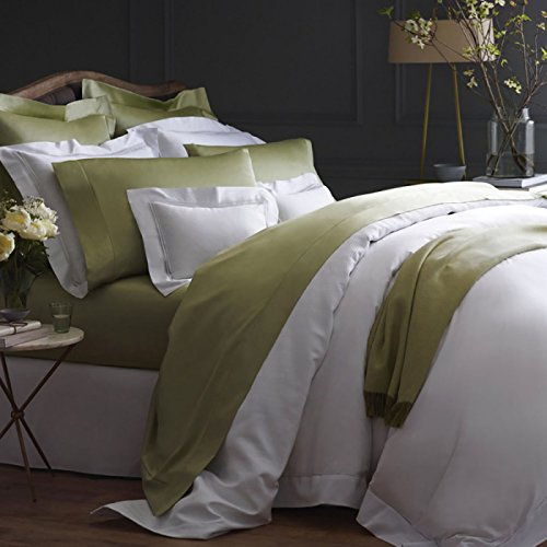 Sale!! SFERRA Giotto Full Queen Flat Sheet 96x114 (Ivory)