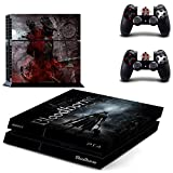 Bloodborne Ps4 Stickers Play Station 4 Skin Ps 4 Sticker Decals Cover para Playstation 4 Ps4 Consola y controlador Skins Vinyl