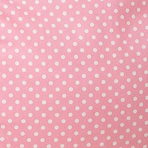 Flash Furniture Oversized Light Pink Dot Bean Bag Chair