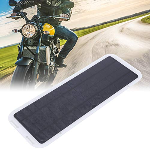 Voluxe Panel solar 18V, panel solar portátil, silicio monocristalino portátil al aire libre fácil de usar para la motocicleta del coche