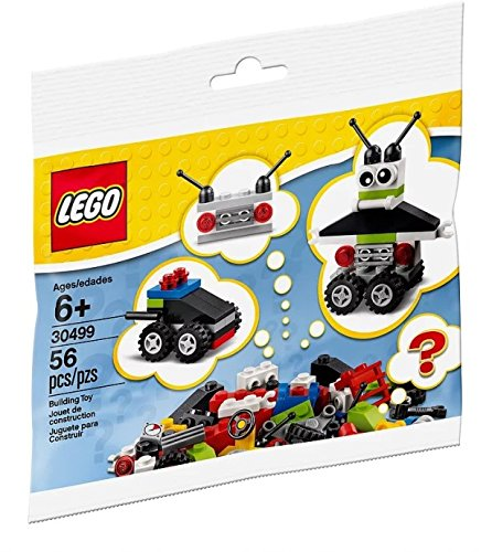 LEGO Robot Vehicle Free Builds - Make It Your Own (30499) 56 Piece Polybag Set