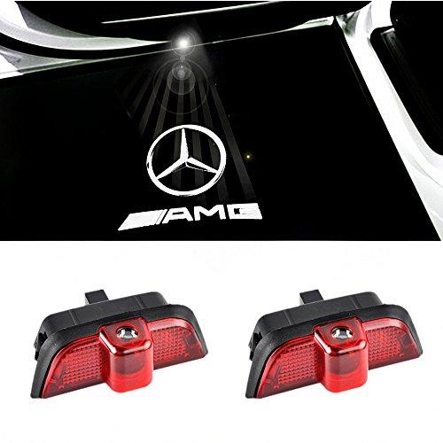 Luz de puerta de coche ColorBuy con proyector led del logotipo, alumbrado de acceso de puerta, luz de entrada