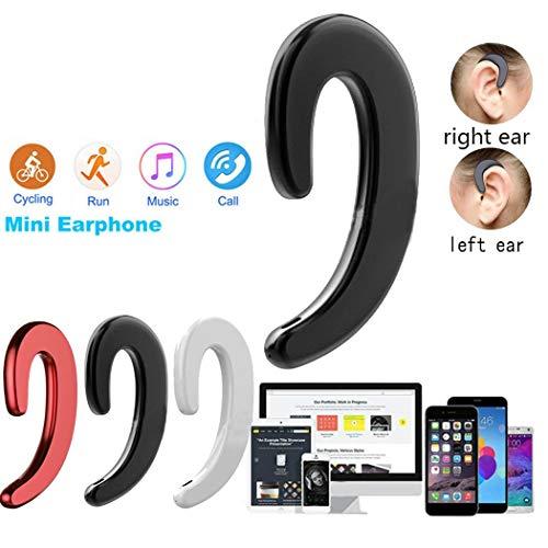 Sivane Conducción ósea Bluetooth inalámbrico Deportes Auriculares Estéreo Auricular de Negocios Auriculares