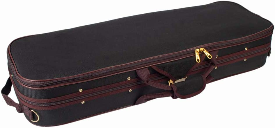 Almencla Rectangle Violin Hard Case 1 8 Sus Hygrometer Size with Popular 67% OFF of fixed price brand in the world
