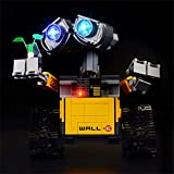 BRIKSMAX Led Lighting Kit for Ideas Wall-E - Compatible with Lego 21303 Building Blocks Model- Not Include The Lego Set