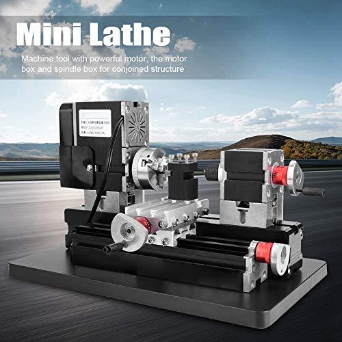 60W Mini Metal Lathe,12000Rpm High Power Metal...