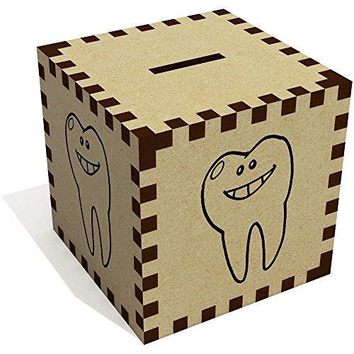Azeeda 'Lächelnder Zahn' Sparbüchse / Spardose (MB00067055)