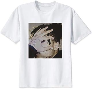 【 HIPHOP アイテム専門店 DzD 】R.I.P 還らぬ若き天才 XXXTENTACION OネックプリントTシャツ【サイズS~XXXL】 XXXテンタシオン RAP ラップ ヒップホップ HIPHOP メンズ レディース ユニセックス