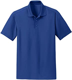 Men's Moisture Wicking Textured Performance Golf Polo's in Sizes XS-4XL