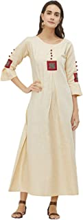 Maple Fashions Absorbing Patchwork Party Wear Kurti
