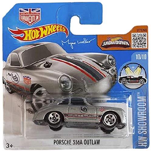 Hot Wheels Porsche 365A Outlaw HW Showroom 10/10 2016 (120/250) Short Card