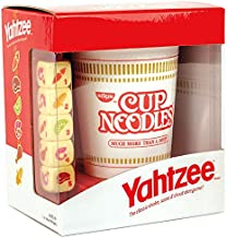 YAHTZEE Cup Noodles | Collectible Yahtzee Game Made to Look Like Iconic Ramen Meal with Custom Dice | Travel Yahtzee Game ...