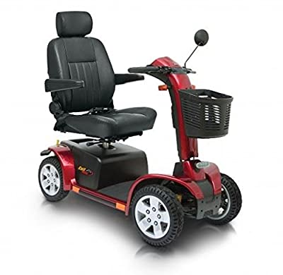 Pride Colt Pursuit 8mph Mobility Scooter Travel Car Red