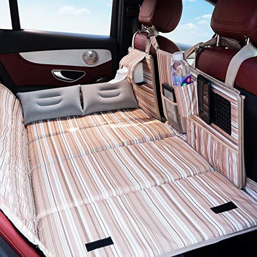 Non Inflatable Car Mattress Back Seat, Car Travel Bed Backseat Sleeping Mattress, Car Bed Non Air Mattress for SUV, Truck and Minivan