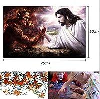 Beni1000ピースの大人のパズル飛行機-ロケットの天使と悪魔