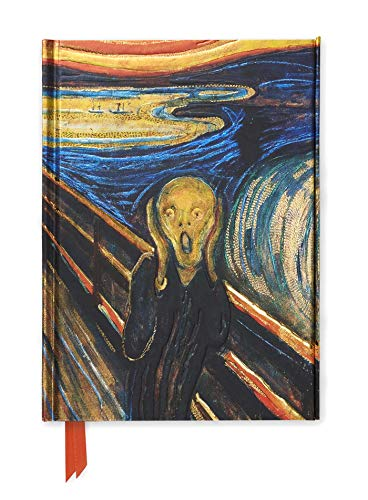 Premium Notizbuch DIN A5: Edvard Munch, Der Schrei: Unser hochwertiges, liniertes Blankbook mit festem, künstlerisch geprägtem Einband und ... DIN A 5 mit Magnetverschluss, Band 63)