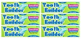 Squigle Tooth Builder Toothpaste (Stops Tooth Sensitivity.Prevents Canker Sores,Mouth Ulcers,Bad Breath,Chapped Lips,Perioral Dermatitis.Soothes and Protects Dry Mouths. No SLS.) - 6 Pack
