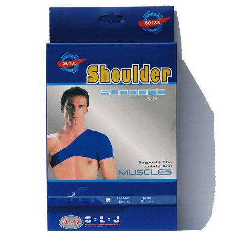Schoner für die Schulter - Bandage für die Schulter und Schultergelenk bietet Schutz bei sportlicher Belastung